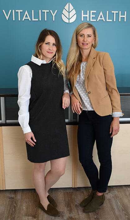Dr. Anna Falkowski, Dr. Heather Goldthorpe - Barrie Naturopathic Doctors